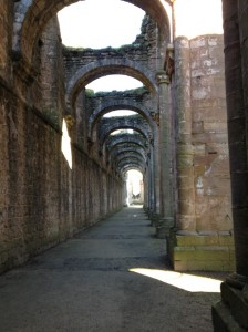 fountains abbey aisle